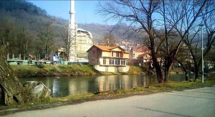 Foča - Pogled na Aladžu