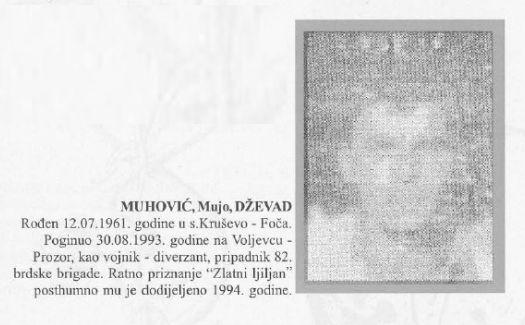 Muhović (Mujo) Dževad
