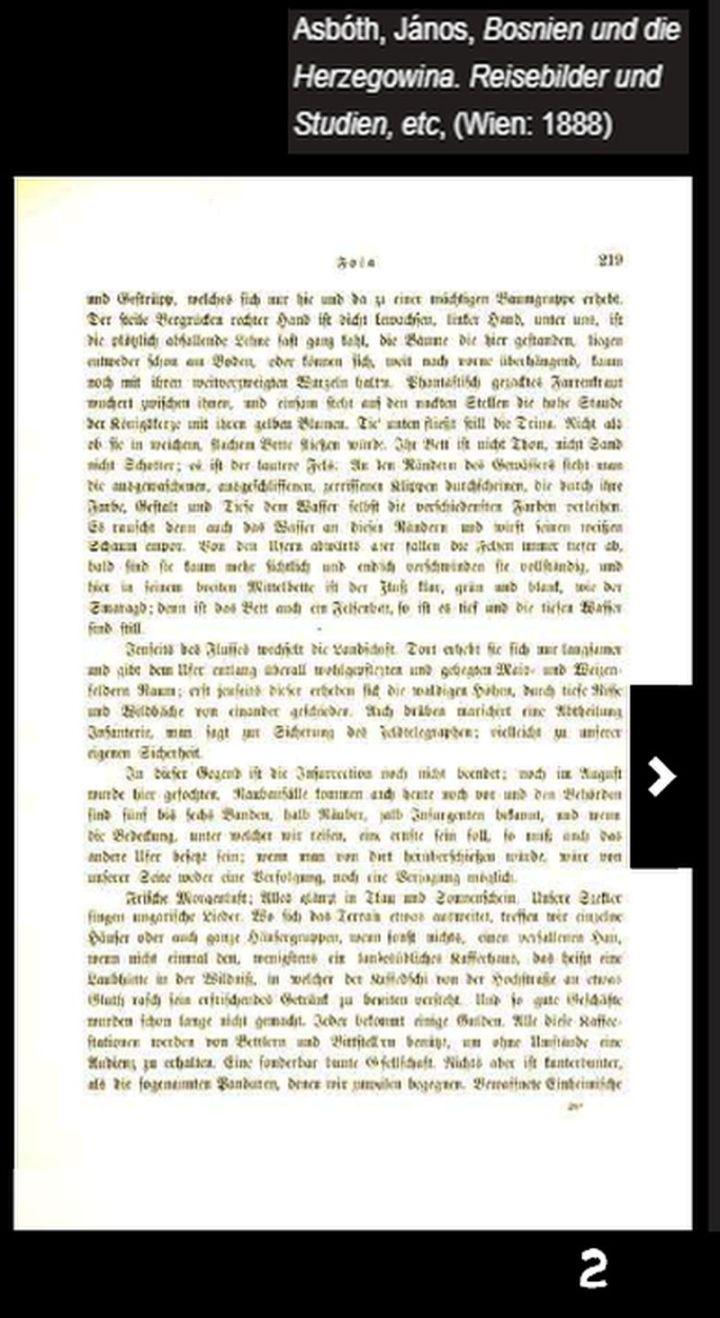 Asbóth, János, Bosnien und die Herzegowina. Reisebilder und Studien, etc, (Wien,1888) _ 002